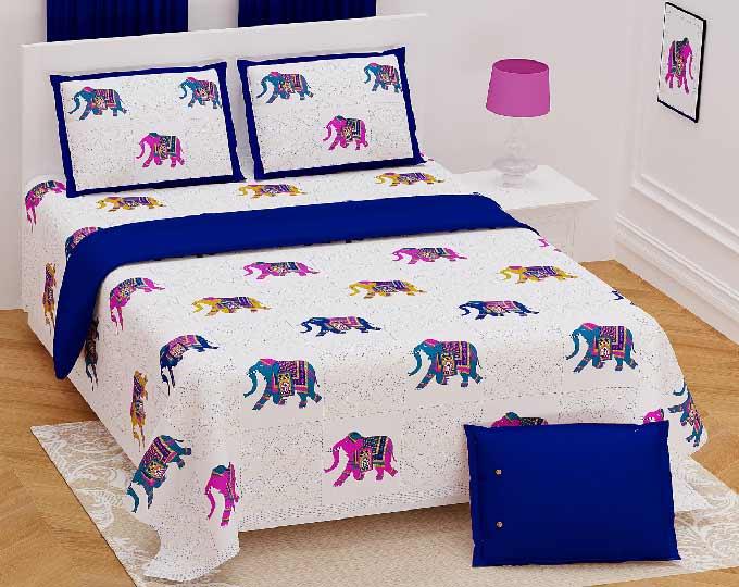 hand-block-print-elephant-design
