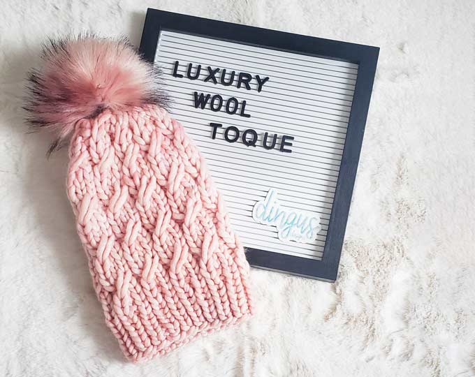 luxury-chunky-beanie-wool-ladies