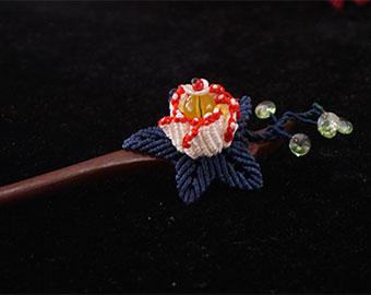flower-hairpin