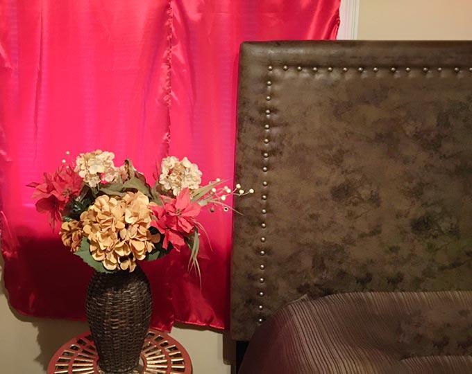 beautiful-red-satin-curtains