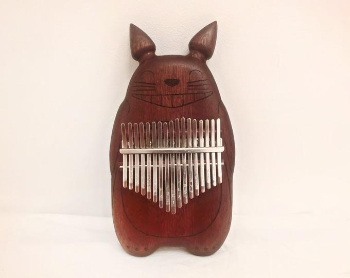 Totoro-mahogany-kalimba